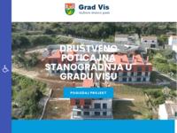 Slika naslovnice sjedišta: Grad Vis (http://www.gradvis.hr)