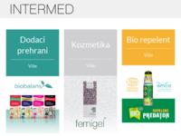 Frontpage screenshot for site: Intermed - knjigom do zdravlja i zadovoljstva (http://www.intermed.hr)