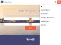 Frontpage screenshot for site: Turistička agencija Taline (http://www.taline.hr)