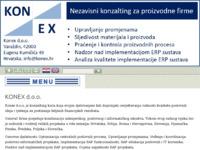 Slika naslovnice sjedišta: Konex d.o.o. za SAP i poslovni konzalting (http://www.konex.hr)