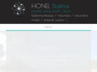 Slika naslovnice sjedišta: Honel Slatina (http://www.honel.hr)