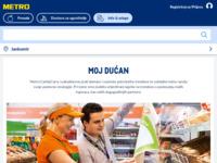 Frontpage screenshot for site: Moj dućan (http://www.mojducan.hr/)