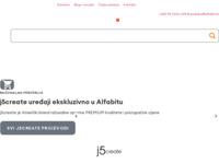 Slika naslovnice sjedišta: AlfaBIT - IT usluge (http://www.alfabit.hr)