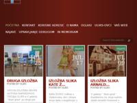 Slika naslovnice sjedišta: Udruženje likovnih i književnih stvaralaca Pula (http://www.uliks.hr)