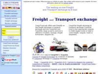Slika naslovnice sjedišta: CargoTrans - Burza utovara i kamiona (http://www.cargotrans.net)