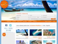 Frontpage screenshot for site: Sunčani Odmor d.o.o. (http://www.suncaniodmor.com)