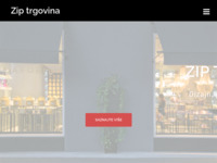 Frontpage screenshot for site: Zip trgovina (http://www.zip-trgovina.hr/)