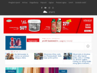 Frontpage screenshot for site: Infovodice (http://www.infovodice.com)