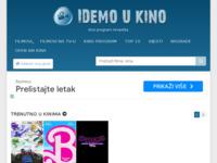 Frontpage screenshot for site: Idemo u kino (http://www.idemoukino.com)