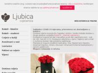 Slika naslovnice sjedišta: Cvjećarnica Ljubica (http://www.cvjecarnicaljubica.com)