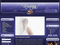 Frontpage screenshot for site: Salon Vjenčanica Kristina (http://vjencanja-kristina.hr/)