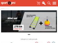 Slika naslovnice sjedišta: Sport WebShop - Oprema za tenis, badminton, squash, stolni tenis (http://www.sport4pro.net/)