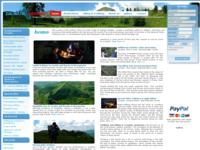 Frontpage screenshot for site: Dalmatia Trekking - Specijalisti za aktivni odmor u Dalmaciji (http://www.dalmatiatrekking.com)