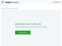 Frontpage screenshot for site: službena web stranica hrvatskog umjetnika Damira Očka (http://www.damirocko.com/)