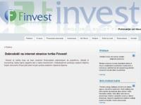 Slika naslovnice sjedišta: Finvest d.o.o. - Prozor u svijet financija (http://finvest.hr)