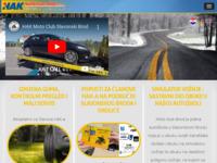 Slika naslovnice sjedišta: HAK - Auto klub Marsonia - Moto Klub Brod (http://www.hak-marsonia.hr)