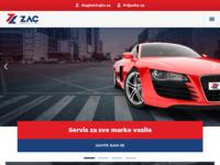 Slika naslovnice sjedišta: Zagrebački auto centar (http://www.zac.hr/)