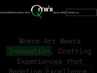 Slika naslovnice sjedišta: Qmini.hr (http://qmini.hr)