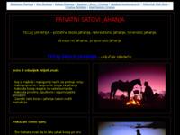 Frontpage screenshot for site: (http://www.jahanje.pondi.hr)