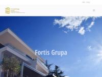 Frontpage screenshot for site: Fortis grupa (http://www.fortis-grupa.hr)