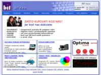 Frontpage screenshot for site: Informaticki internet ducan (http://www.kompjutor.eu)