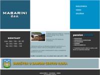 Frontpage screenshot for site: Masarini d.o.o. (http://www.masarini.hr)
