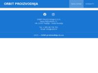 Slika naslovnice sjedišta: Orbit prerada plastike (http://www.orbit.hr)