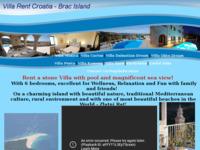 Frontpage screenshot for site: Početna - Villa Monica (http://www.villarentcroatia.com)