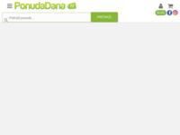 Frontpage screenshot for site: Ponuda dana - portal za grupnu kupovinu uz popuste od 50 do 90% (http://www.ponudadana.hr)