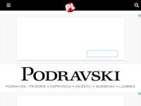 Frontpage screenshot for site: Podravski list (http://www.podravskilist.hr/)