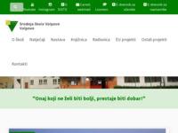Slika naslovnice sjedišta: Srednja škola Valpovo (http://www.ss-valpovo.hr/)