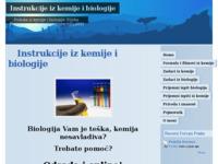 Slika naslovnice sjedišta: Instrukcije iz kemije i biologije (http://instrukcijeizkemije.webs.com/)