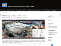 Frontpage screenshot for site: SRS Shipping Research Services Inc. d.o.o (http://www.srs.hr)