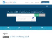 Slika naslovnice sjedišta: Izrada web stranica i informatičke usluge- Domidona (http://www.domidona.com)