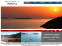 Frontpage screenshot for site: Villa Paradiso (http://www.lastovo-accomodation.com/)