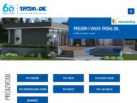 Slika naslovnice sjedišta: troha-dil.hr - PVC stolarija, prozori i vrata (http://www.troha-dil.hr)