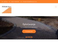 Frontpage screenshot for site: Fanjak d.o.o. Za građevinarstvo prodaju i usluge (http://www.fanjak.hr)