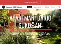 Slika naslovnice sjedišta: Apartmani DARIO - Sukošan (http://www.apartmani-dario.com)