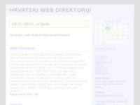 Frontpage screenshot for site: Hrvatski web direktoriji (http://web-direktoriji.blog.hr/)