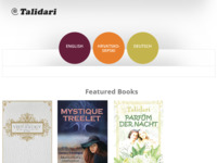 Frontpage screenshot for site: Talidari - multimedijalna umjetnost (http://www.talidari.net)