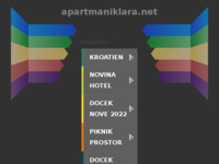 Frontpage screenshot for site: Apartmani Klara (http://www.apartmaniklara.net)
