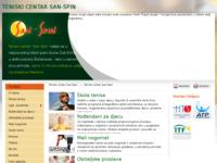 Slika naslovnice sjedišta: Teniski klub San-Spin (http://san-spin.hr/)
