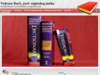 Frontpage screenshot for site: Sudski tumač i prevoditelj za engleski jezik, Labin (http://www.english.com.hr)