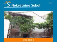 Slika naslovnice sjedišta: sobol-nekretnine.hr - Portal za prodaju nekretnina na Cresu, Lošinju, Rijeci i okolici (http://www.sobol-nekretnine.hr)