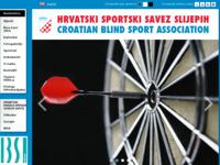 Slika naslovnice sjedišta: Hrvatski športski savez slijepih (http://www.hsss-cbsa.hr/)