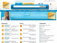 Frontpage screenshot for site: Imenik (http://www.imenik.hr)