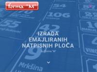 Slika naslovnice sjedišta: Forma-m (http://www.forma-m.com/)