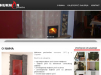Slika naslovnice sjedišta: Pećarstvo Hukman - kaljeve peći (http://www.kaljevepeci-hukman.com/)