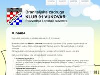 Slika naslovnice sjedišta: Braniteljska zadruga Klub 91 Vukovar - proizvodnja i prodaja suvenira (http://www.bz-klub91.hr)