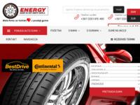 Slika naslovnice sjedišta: Energy d.o.o. Gradiška - Autogume za sve vrste vozila (http://www.energydoo.com)